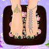 Christmas Time Pedicure Free Game