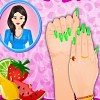 Fruit Fashion Nail Art Free Game