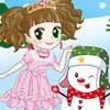 A Princess And A Snowman A Free Dress-Up Game