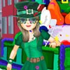 It`s the Patty`s Day Parade, and everybody`s singing and dancing! It`s a jovial day for everyone in the city! And with all of the wacky green hats, funny green glasses, and checkered green pants, you`ll be seeing a veritable volume of virescent clothes for weeks!