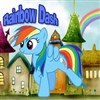 Rainbow Dash Sprint A Free Sports Game