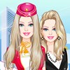 Barbie Flight Attendant A Free Dress-Up Game