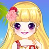 Floral Prints A Free Dress-Up Game