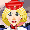 French Stewardess DressUp Free Game