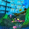 Cute Diver Aquarium Free Game