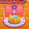 We did an orginal cooking games called butterfly banana cupcake. Did you ever see a butterfly in a cupcake? If not check this out and make your perfect own butterfly banna cupcake.
