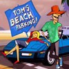 Help Tom in his quest to be the best beach parker in the world. Drive all the different cars to their parking spot without hitting anything, make sure you get in there straight though!