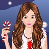 Candys Christmas Party Dress Up Free Game